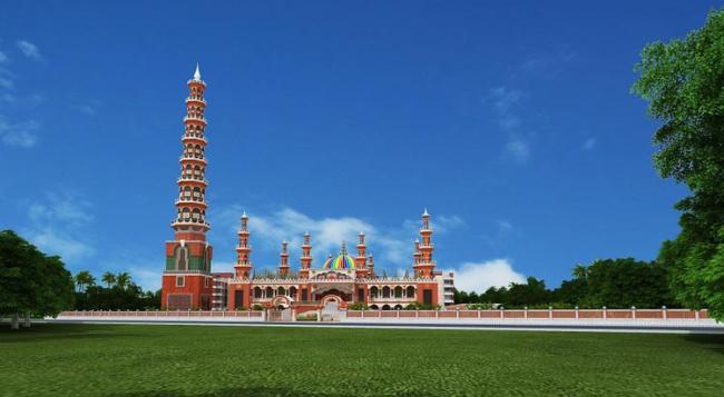 বিশ্ব ইতিহাসে টাঙ্গাইলের '২০১ গম্বুজ মসজিদ'