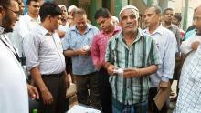 সরকারি সহায়তার টাকা সাদ কোম্পানির শ্রমিকদের হাতে