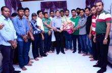চট্টগ্রাম ডিসিকে টিসিজেএ'র শুভেচ্ছা