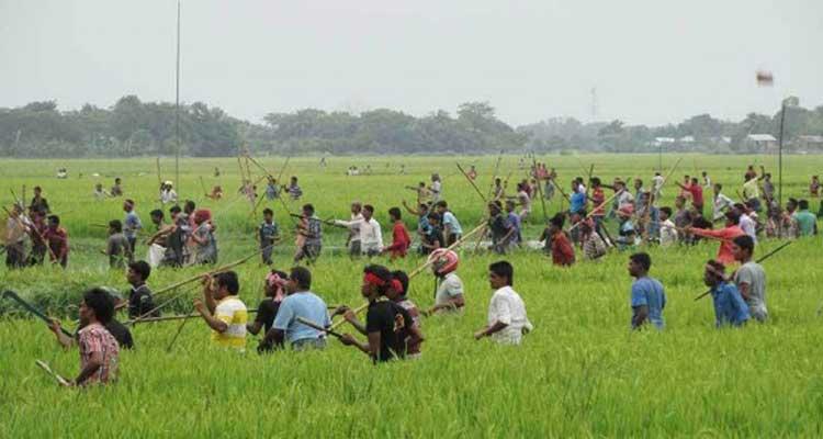 সরাইলে দু'দল গ্রামবাসীর সংঘর্ষে আহত ৪০