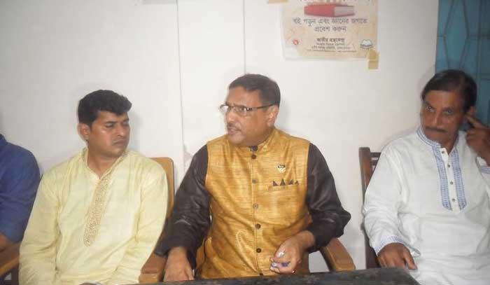 বিএনপি প্রেসব্রিফিং নির্ভর রাজনীতি করছে: ওবায়দুল কাদের