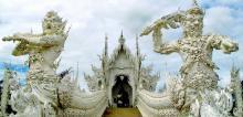 থাই মন্দির ওয়াট রং খুন মন্দির